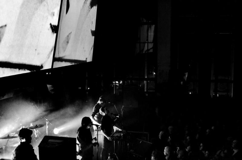 Laibach live at Berghain, Berlin - Photo by Maša Jazbec