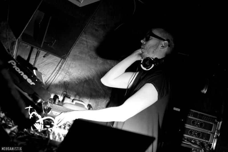 Bryan Black at Disturbance#6, Berlin - Photo by Morganistik