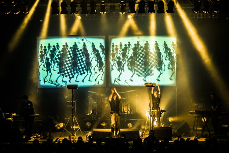 Laibach live in Dresden by Frank Buttenbender - 04