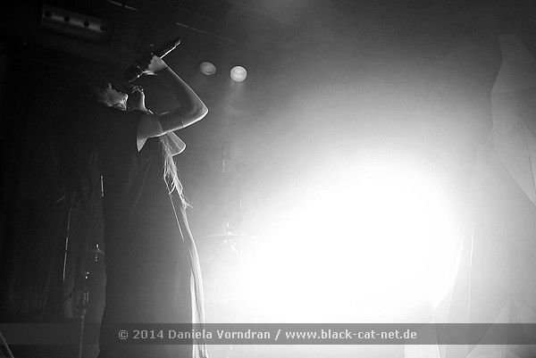 Zola Jesus, Cologne 2014 - Photo by Daniela Vorndran